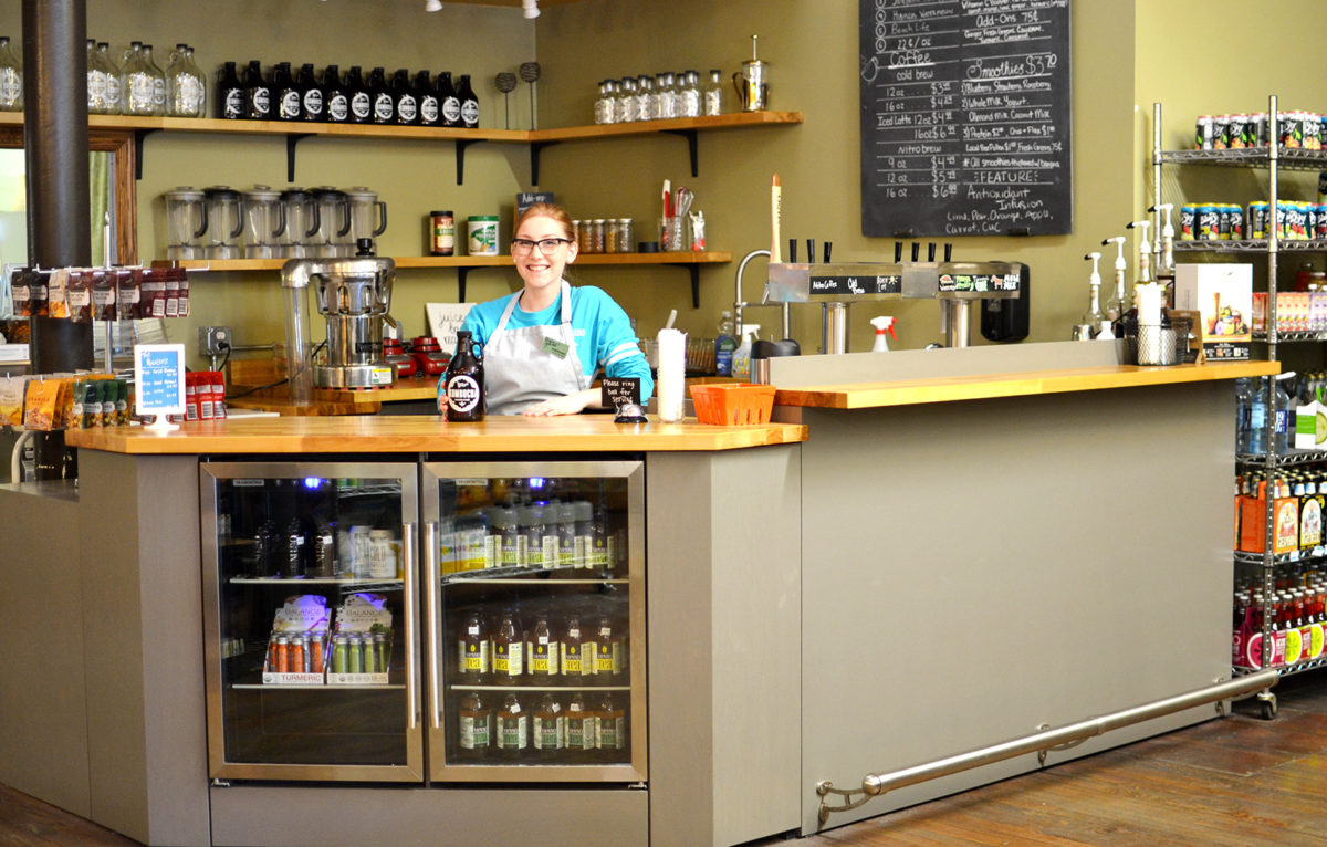 Prairy Market and Deli's in-house juice bar